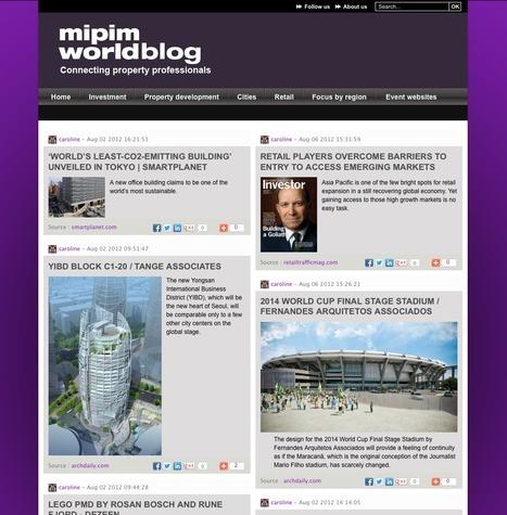 Mipim worldblog | SocialMediaDesign | Scoop.it