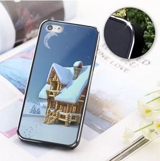 Snow covered house iPhone 5 case | Apple iPhone and iPad news | Scoop.it
