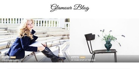 Glamour Blogger Template | Blogger themes | Scoop.it