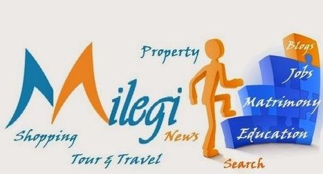 Milegi: Milegi features Special Segments Dedicated to Jobs, Matrimony, Travel, Education, News, Shopping | MilegiJobs | Scoop.it