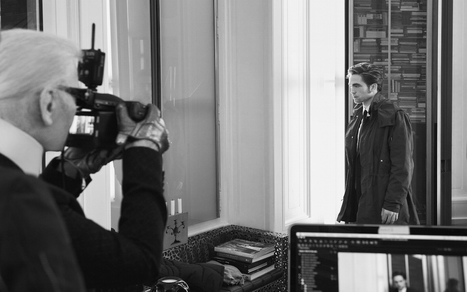 Robert Pattinson per Dior Homme: Behind The Scenes - Vogue.it | Robert Pattinson Daily News, Photo, Video & Fan Art | Scoop.it