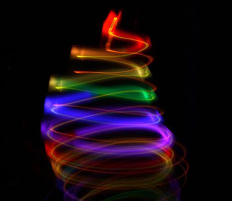 Thymio II robot creates beautiful light paintings | IEEE Spectrum | BeagleBone | Scoop.it