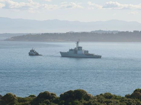 Former HMCS Algonquin leaves Esquimalt – ship being towed to east coast to be broken up    | NovaScotia News | Scoop.it