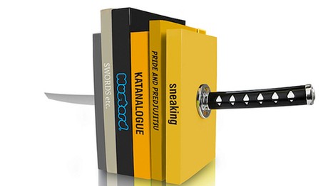 Katana Bookend | All Geeks | Scoop.it