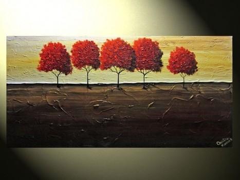 Amazing Contemporary Paintings by Christine Krainock - Artists Inspire Artists | Art | Scoop.it