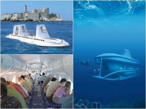 Un cassiden va lancer un sous-marin de tourisme marseillais !   Routes culturelles et itinéraires en Méditerranée   Scoop.it