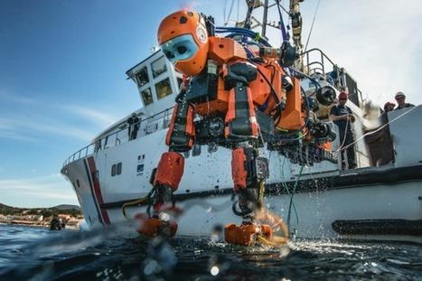 Ocean One : le robot des profondeurs | Histoire et Archéologie | Scoop.it