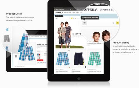 iPad & Tablet Commerce Best Practice : T-Commerce Report | Agence Profileo : 100% e-commerce Prestashop | Scoop.it