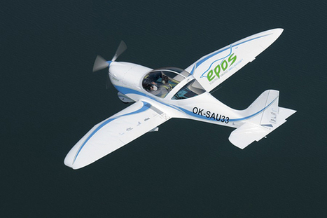 SportStar EPOS Electric Aircraft Takes Its Maiden Flight - EarthTechling | Tales from the Flight Line | Scoop.it
