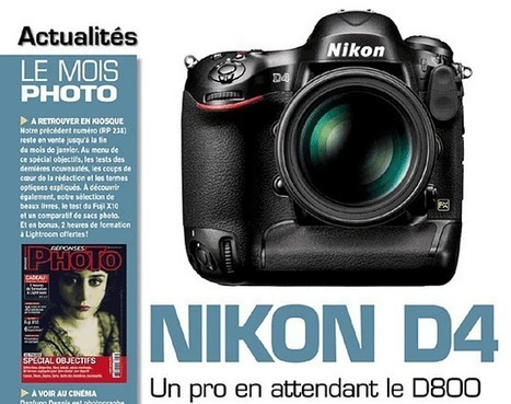 Nikon D4 leaked in French magazine | Communication design | Scoop.it