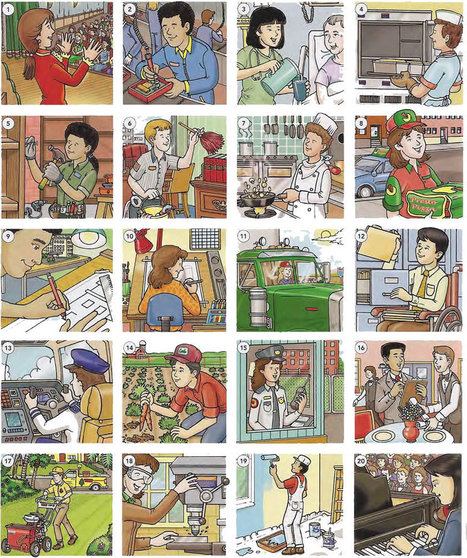 Job skills and activities vocabulary PDF - Learning English vocabulary and grammar | Learning Basic English, to Advanced Over 700 On-Line Lessons and Exercises Free | Scoop.it