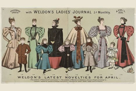 The Birth of Fashion Magazines | JSTOR Daily | Texas A&M Costume and Dress | Scoop.it