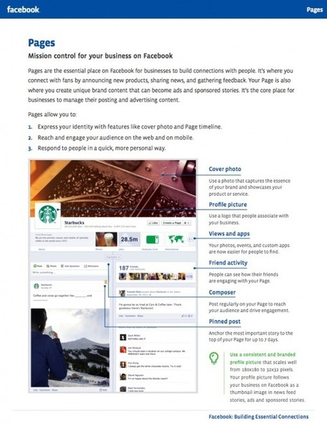 Facebook Timeline for Pages – The Ultimate Guide / The Social Media Guide | Be Social On Media For Best Marketing ! | Scoop.it