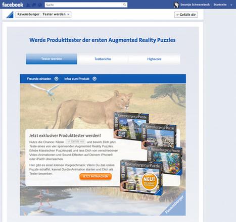 Puzzelst Du noch oder testest Du schon!? Ravensburger lässt seine Augmented Reality Puzzles testen | Augmented Reality und Spiele | Scoop.it