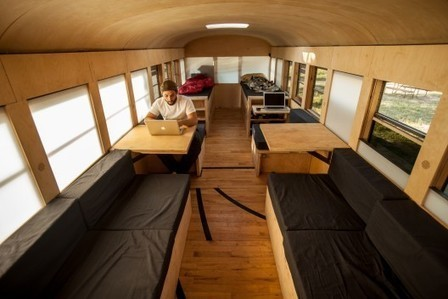 Student Thesis Project Turns Bus Into Tiny House | House | Scoop.it