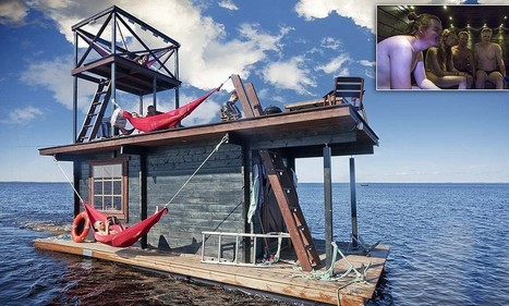 The floating sauna in Finland that you can hire out by the day | Easy Travelers | Scoop.it