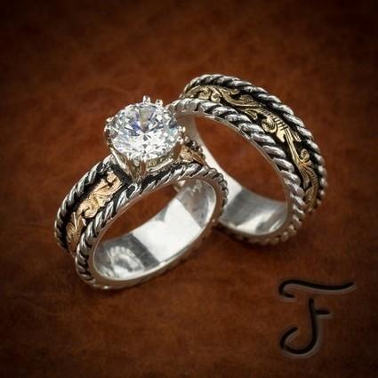 Western wedding rings ideas wedding decoration ideas wedding