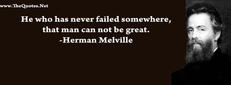 Facebook Cover Image - Herman Melville - TheQuotes.Net | Facebook Cover Photos | Scoop.it