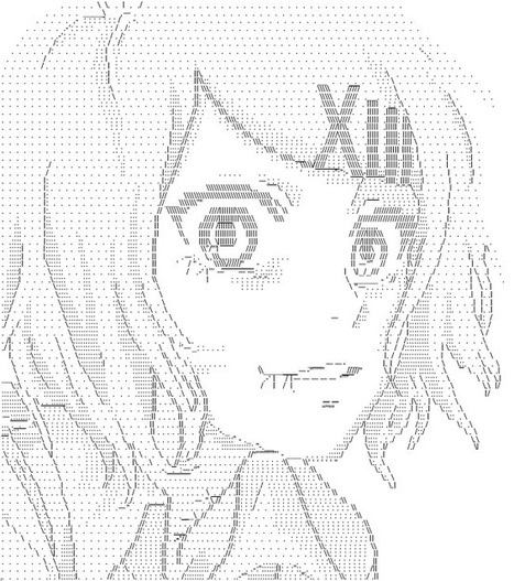 Suzuya Juuzou by BeatriceGrave on DeviantArt | ASCII Art | Scoop.it