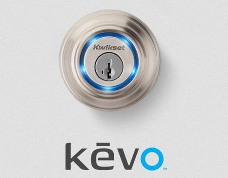 Kwikset présente sa serrure intelligente Kevo | Télégestion et autre domotique | Scoop.it