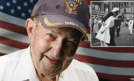 World War II 'Kissing Sailor' Glenn McDuffie dies aged 86 - Daily Mail | United States History | Scoop.it