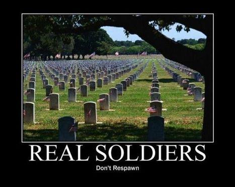 Real Soldiers | fun for geeks | Scoop.it