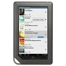 OverDrive app now available for the NOOK, allows for borrowing from the library | GadgeTell | ebooks | Scoop.it