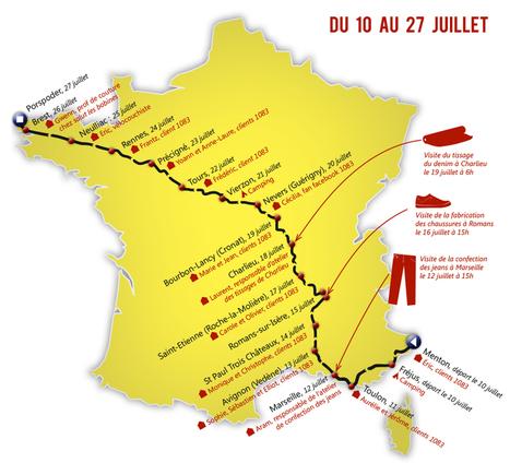 L'autre tour de France - Jeans et Chaussures fabriqués en France | le commerce de centre ville | Scoop.it