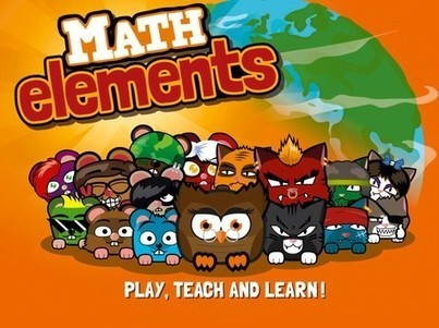 MATH ELEMENTS: BEST EDUCATION GAME 2013 - 10 Years of Research | All Things Elementary... Math | Scoop.it