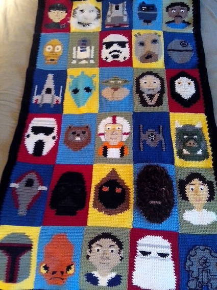 Star Wars Afghan | Geeky Creations | Scoop.it