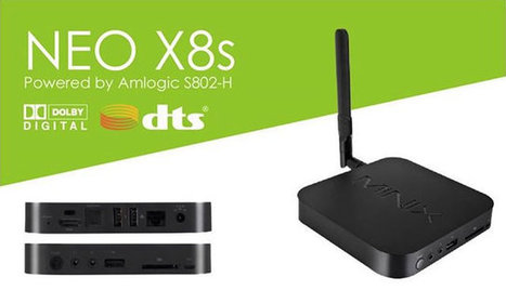 MINIX Unveils NEO X8 and X8s Android TV Boxes Powered by Amlogic S802 & S802-H SoCs | Embedded Software | Scoop.it