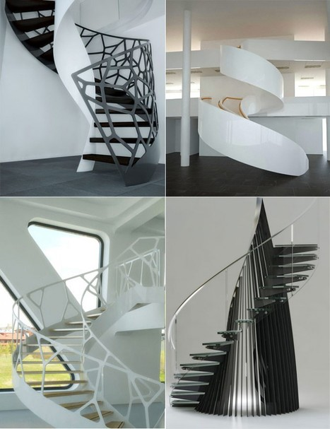Fancy Staircase Treatments | What Surrounds You | Scoop.it