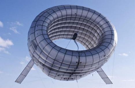 Noticias de ecologia y medio ambiente | Airbone Wind Turbine: Una turbina eólica inflable | Infraestructura Sostenible | Scoop.it