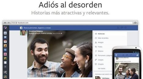 Los cambios de Facebook en el 2013 | Las TIC y la Educación | Scoop.it