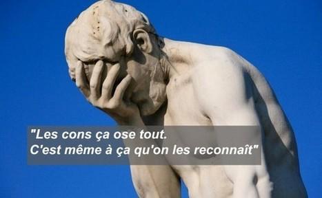 Top 20 des meilleures citations sur les cons | Trollface , meme et humour 2.0 | Scoop.it