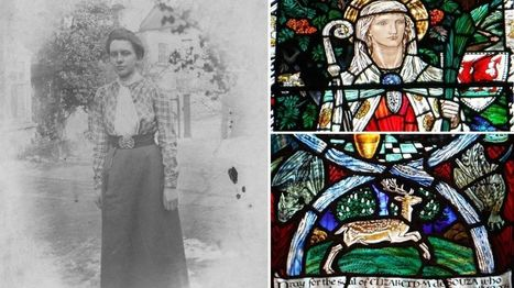 Margaret Rope: The 'genius' stained glass artist who became a nun - BBC News | Wenlock Edge | Scoop.it