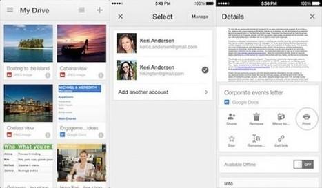 Google Drive gère plusieurs comptes et Adsense de nouvelle langues | Social Media Actu | Scoop.it