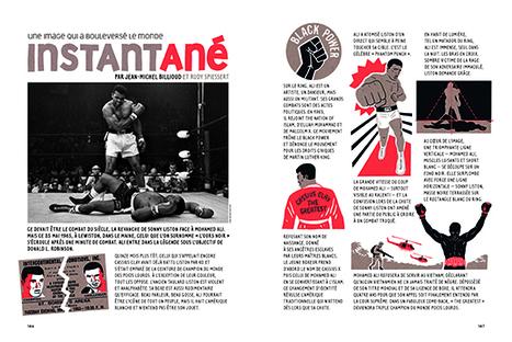 Ali-Liston, 25 mai 1965, Instantané dans la Revue Dessinée n°10 | Images fixes et animées - Clemi Montpellier | Scoop.it