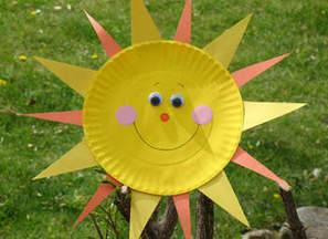 Paper Plate Sun Craft | Storytime: Spring | Scoop.it