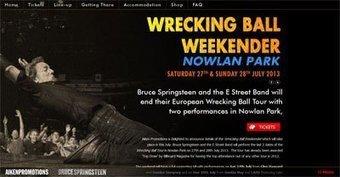 Kilkenny 2 : trois tour premières pour le dernier concert européen de Bruce Springsteen - le Blog Bruce Springsteen   Bruce Springsteen   Scoop.it