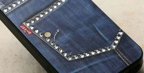 Levis studded bling jeweled iPhone 4 case | Apple iPhone and iPad news | Scoop.it