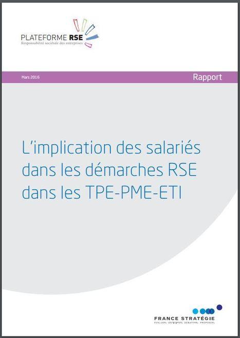 L'#implication des #salariés dans les #démarches #RSE dans les #TPE-#PME-#ETI | Responsabilité sociale des entreprises (RSE) | Scoop.it