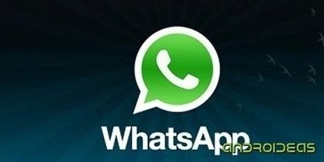 WhatsApp permitirá archivar conversaciones | Androideas | Scoop.it
