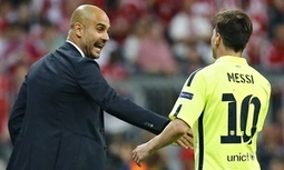 Lionel Messi is the best player of all time, says Bayern's Pep Guardiola - The Guardian | AC Affairs | Scoop.it