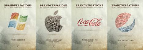 Brandversations - Logos des marques avec ceux de leurs concurrents | Marketings | Scoop.it