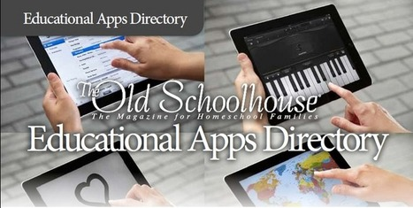 The Old Schoolhouse Educational Apps Directory | Brain Parade | App-a-Palooza | Scoop.it