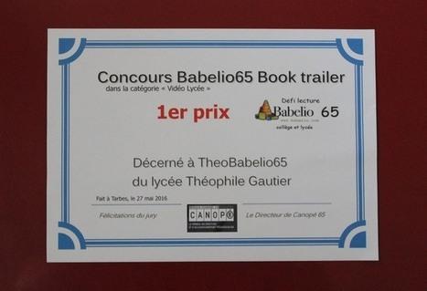 «Théo» brille à Babelio | Théonet | CLEMI -  Des nouvelles des élèves | Scoop.it