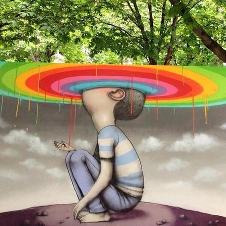 Seth Globepainter wonderful Street Art wall in Paris, France @GoogleStreetArt | Street Art Planet | Scoop.it