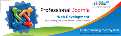 Joomla Web Design and Website Development Services   Web Design Company   Scoop.it