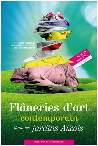 Les Flâneries d'Art dans les jardins aixois à Aix en Provence par Aix en Oeuvres | Regards contemporains | Scoop.it